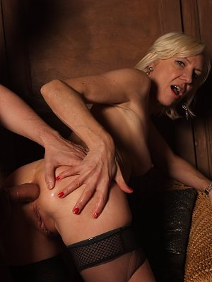 Blonde Wife Ass Fucked