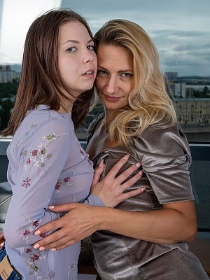 Amateur Teen and Mom