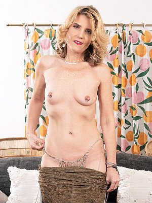 Blonde Mature Lady