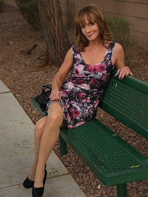 Hot Mature Wife Posing