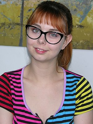 Hot Amateur Babe with Glasses